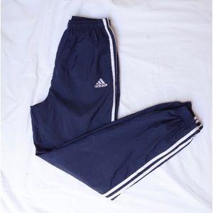Vintage Adidas Navy Jogger Track Pants